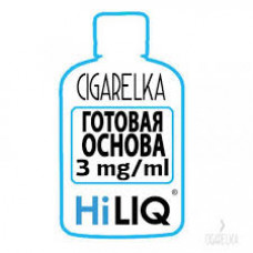 Никотиновая база 3 mg/ml [HiLIQ]