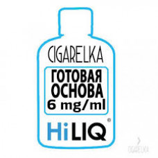 Никотиновая база 6 mg/ml [HiLIQ]